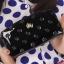 กระเป๋าสตางค์แฟชั่น KQUEENSTAR พร้อมส่ง สีดำ ใบยาว DESIGN สุดเก๋ ลายมงกุฎ ปิดเปิดด้วยซิบรูด สวยหรู thumbnail 1