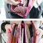 กระเป๋าสตางค์แฟชั่น KOS พร้อมส่ง สีส้ม หนัง PU ใบยาว แต่งลายดอกไม้ มีช่องในนามบัตรหลายช่อง มีจี้ห้อยน่ารักๆ thumbnail 5
