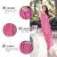 MAXI DRESS ชุดเดรสยาว พร้อมส่ง สีชมพู ลายทางสลับสีสวยมากๆ สินค้าจริงงานเหมือนแบบเลยค่ะ thumbnail 4