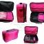 กระเป๋าเครื่องสำอาง กระเป๋าเก็บเครื่องสำอาง น่ารัก สีชมพู Beauty Secret D Professional Makeup Box 2 in 1 thumbnail 2