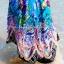MAXI DRESS ชุดเดรสยาว พร้อมส่ง สีน้ำเงิน คอวีลึก แขนกุด แต่งย่นๆช่วงหัวไหล่ ลายดอกไม้สีสัน สม๊อคช่วงเอว สวยมากๆค่ะ thumbnail 6