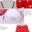 ชุดว่ายน้ำทูพีช สีแดง สายเดี่ยว ดีเทล แขนระบาย โชว์ไหล่เซ็กซี่ ลายหัวใจน่ารัก กระโปรงแต่งระบายสวยมากๆค่ะ thumbnail 7