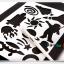 Scratch Cards- Dream Space ชุดศิลปะขูดพร้อม stencil thumbnail 3