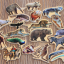 Magnetic wooden puzzle- Wide Animal thumbnail 4
