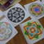 Mandala 2 มันดาลา แบบฝึกสมาธิ ความจดจ่อ และความอดทน มานดาลา thumbnail 3