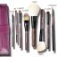 ชุด แปรงแต่งหน้า อุปกรณ์แต่งหน้า Cerro Qreen oak handle Sable brushes Black /Purple thumbnail 1