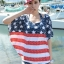 ชุดว่ายน้ำทูพีช เซ็ตคู่ชุดชั้นในเข้ากับชุด ลายธงชาติอังกฤษ เก๋ๆสุดๆ thumbnail 3