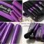 แปรงแต่งหน้า ชุดแปรงแต่งหน้า พร้อมกระเป๋า Cerro Qreen full fiber loaded brush - Purple Rose Set / 5 ชิ้น thumbnail 2