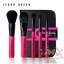 ชุดแปรงแต่งหน้า พร้อมกระเป๋าเก็บอย่างดี Cerro Qreen full fiber loaded brush set/5ชิ้น - Pink thumbnail 1