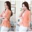 เสื้อสูทแฟชั่น เสื้อสูทสำหรับผู้หญิง พร้อมส่ง สีส้ม ผ้าคอตตอน 100 % เนื้อดี คุณภาพงานพรีเมี่ยม งานตัดเย็บเนี๊ยบ ไม่มีซับในระบายอากาศได้ค่ะ thumbnail 4