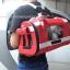 กระเป๋าใส่สุนัข กระเป๋าใส่แมว 2 in1 สีแดง (Size S,M,L) thumbnail 2