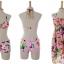 ชุดว่ายน้ำทูพีช พื้นชมพู ลายดอกไม้สีหวาน เซ็ตสามชิ้น เสื้อช้ันใน + กางเกง และ ชุดเดรสลายดอกไม้ สม๊อคช่วงอก แบบน่ารักมากๆ thumbnail 11