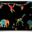 Scratch Cards-Animal Kingdom ชุดศิลปะขูดพร้อม stencil thumbnail 1