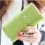 กระเป๋าสตางค์ YADAS พร้อมส่ง สีเขียว หนัง PU ทรงเรียบหรู ใบยาว DESIGN สุดเก๋ ไฮโซมากๆ thumbnail 2