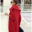 เสื้อกันหนาวไหมพรม พร้อมส่ง สีแดง ตัวโคร่งๆ คอเต่าน่ารัก ถักท่อด้วยผ้าไหมพรมเนื้อแน่น thumbnail 8