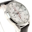 Seiko Men's SNDC87P2 Leather Synthetic Analog with White Dial Watch thumbnail 2