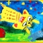 Joan Miro Washable kid's paint-Green สีผสมสำเร็จ เขียว thumbnail 12