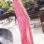 MAXI DRESS ชุดเดรสยาว พร้อมส่ง สีชมพู ลายทางสลับสีสวยมากๆ สินค้าจริงงานเหมือนแบบเลยค่ะ thumbnail 2