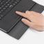 Keyboard Bluetooth มี Touch pad พร้อมเคสพับวางตั้งได้ สำหรับแท็บเล็ต 9-10 นิ้ว thumbnail 14