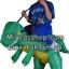 Preorder ชุดปาร์ตี้ไดโนเสาร์เป่าลม Inflatable Dinosaur Costume thumbnail 7