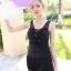 ชุดว่ายน้ำวันพีช สีดำ ดีเทลระบายช่วงหน้าอกเก๋ๆ กระโปรงแต่งด้วยผ้าลูกไม้ น่ารักมากๆ thumbnail 3
