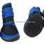 รองเท้าสุนัขโต สีน้ำเงิน-ดำ ลายรัดคอเท้า (4 ข้าง) thumbnail 2