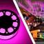 ไฟสายยาง(ท่อกลม) LED 100 m สีชมพู thumbnail 6