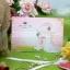 > การ์ดแต่งงานแบบพับ ขนาด 4x6 นิ้ว สีชมพู รหัส 75081 thumbnail 1