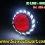 ไฟโปรเจคเตอร์มอเตอ์ไซค์ทรงใบพัดไฟวงแหวนLEDแบบCOB thumbnail 5