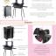 กระเป๋ารถเข็น โต๊ะเครื่องแป้ง กล่องเก็บเครื่องสำอาง Professional major beauty case boxes stand - Black thumbnail 5