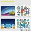 Joan Miro Reusable sticker pad - Space Exploration สมุดภาพสติกเกอร์แปะแล้วแกะได้ thumbnail 4