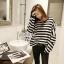 Cliona's made, Autum stripe Oversize Sweater Knit thumbnail 6