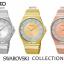 Seiko Swarovski Crystal Elements Ladies SXDF72 thumbnail 3