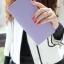 กระเป๋าสตางค์แฟชั่น พร้อมส่ง สีม่วง ด้านในแต่งด้วย สีชมพู น่ารัก ทรงเรียบหรู ใบยาว DESIGN สุดเก๋ ไฮโซมากๆ แต่งด้วยจี้หัวใจ น่ารักๆ thumbnail 2