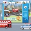 Joan Miro Reusable sticker pad - Urban Transport thumbnail 1