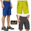 Jack Wolfskins Men's New Active Track Shorts thumbnail 1