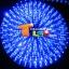 ไฟสายยาง(ท่อกลม) LED 100 m สี thumbnail 2