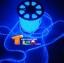 ไฟสายยาง(ท่อกลม) LED 100 m สี thumbnail 3