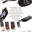 CerroQreen double eye makeup brush แปรงแต่งหน้า sets /4 ชิ้น - Black /Purple thumbnail 2