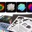 Scratch Cards- Dream Space ชุดศิลปะขูดพร้อม stencil thumbnail 6