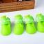 รองเท้าสุนัข รองเท้าแมว บูทยางสีเขียว(4 ข้าง) thumbnail 1