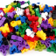 Triangle plug match building blocks132 pieces ตัวต่อสามเหลี่ยม thumbnail 5