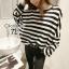 Cliona's made, Autum stripe Oversize Sweater Knit thumbnail 1