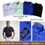 Glenmuir Pencil Stripe Polo Shirt thumbnail 2