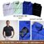 Glenmuir Pencil Stripe Polo Shirt thumbnail 2