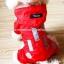 เสื้อกันฝนสุนัข สีแดง thumbnail 2