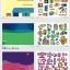 Joan Miro Reusable sticker pad - Space Exploration สมุดภาพสติกเกอร์แปะแล้วแกะได้ thumbnail 5