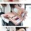 กระเป๋าสตางค์แฟชั่น พร้อมส่ง สีดำ ด้านในแต่งด้วย สีชมพู น่ารัก ทรงเรียบหรู ใบยาว DESIGN สุดเก๋ ไฮโซมากๆ แต่งด้วยจี้หัวใจ น่ารักๆ thumbnail 2