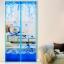 มุ้งประตูแม่เหล็ก สีฟ้า ลายคู่รัก ขนาด 90x210 ซม. แม่เหล็ก้อน และเส้นแม่เหล็กในตัว thumbnail 1