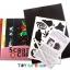 Scratch Cards- Dream Space ชุดศิลปะขูดพร้อม stencil thumbnail 4